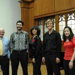 Tango Sur after our performance in Longmire Hall at Florida State University.