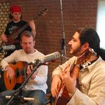 "Tequila Flamenco Group ON AIR. Live on NPR's ""Live in Studio C"" in Nashville, Tennessee."